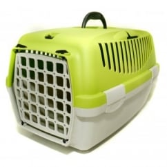 Gulliver 1 Cat & Small Dog Carrier Plastic Door - Apple Green