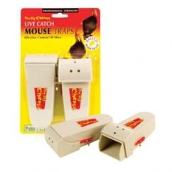 STV Big Cheese Live Catch Mouse Traps - Pack 2