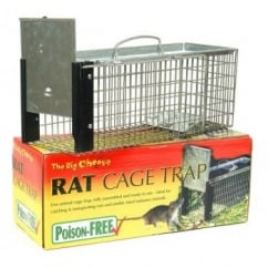 STV The Big Cheese Rat Cage Trap.