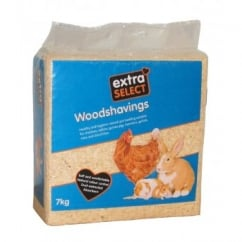 Extra Select Woodshavings - 7kg