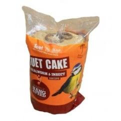Suet To Go Cake With Mealworm & Insect Wild Bird Treat 350g