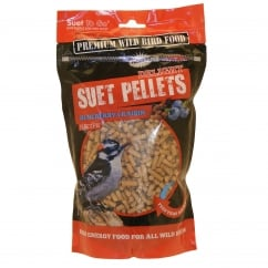 Delights Blueberry & Raisin Wild Bird Suet Pellets 550g