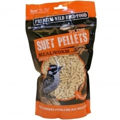 Mealworm Plus Wild Bird Suet Pellets 550g