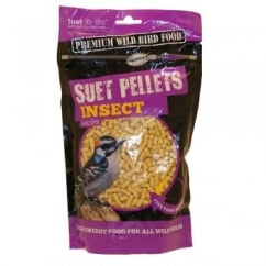 Suet To Go Wild Bird Food Pellets Insect 550g