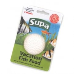 Supa Aquarium Vacation Fish Food 25gm