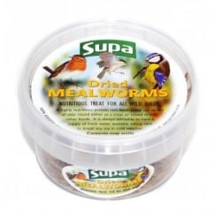 Supa Dried Mealworms For Wild Birds - 225ml