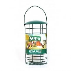 Supa Fat Ball Feeder Green Large Takes 2x500gm balls