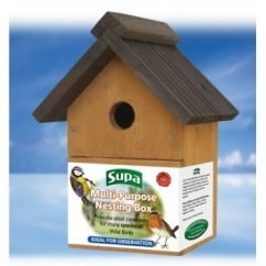Supa Multi-Purpose Wild Bird Nesting Box