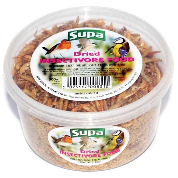 Supa Dried Mealworms Fruit & Honey Wild Bird Cocktail 500ml