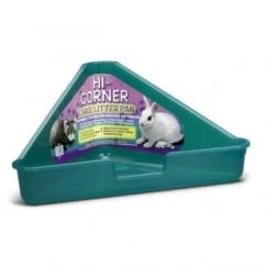 Hi-corner Small Animal Litter Pan - Large