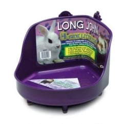 Small Animal Litter Pan Corner High 9.5x11x7