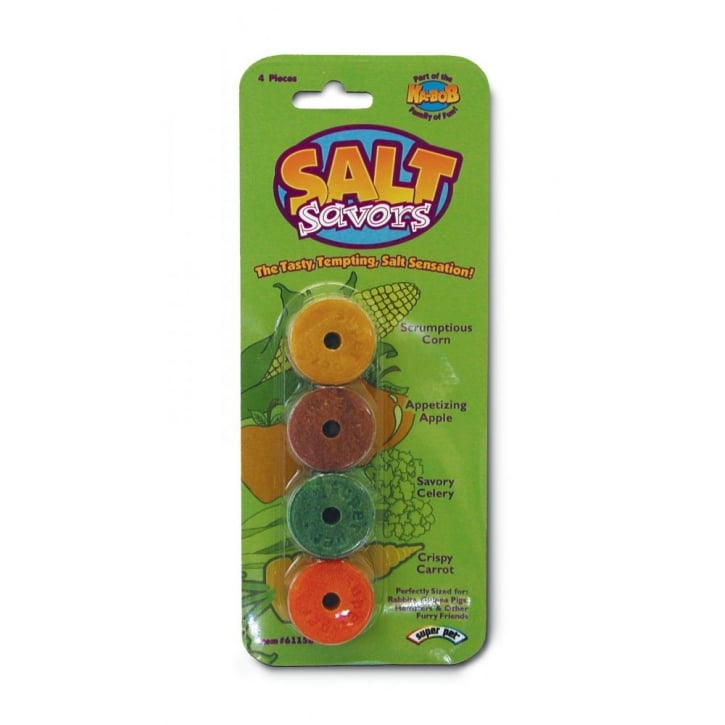 Superpet Small Animal Salt Savors - 4 Pack