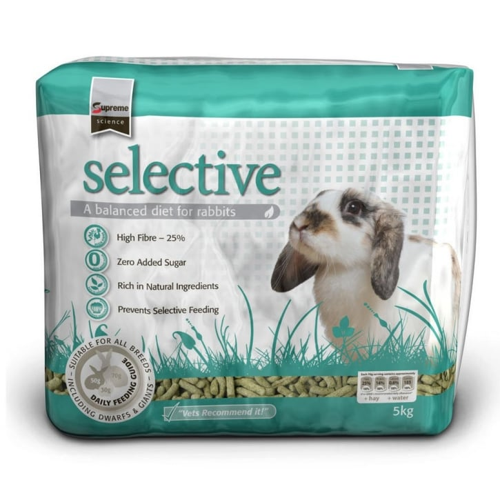 Supreme Science Selective Rabbit Food 5kg