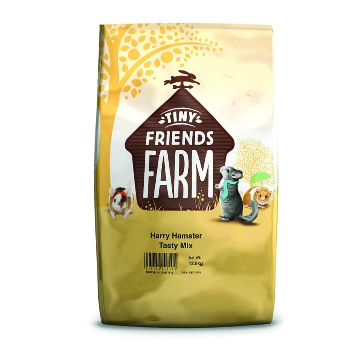 Supreme Tiny Friends Farm Harry Hamster Tasty Mix 12.5kg