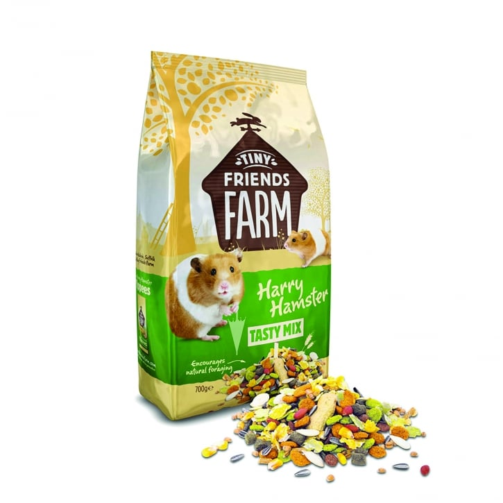 Supreme Tiny Friends Farm Harry Hamster Tasty Mix 700g