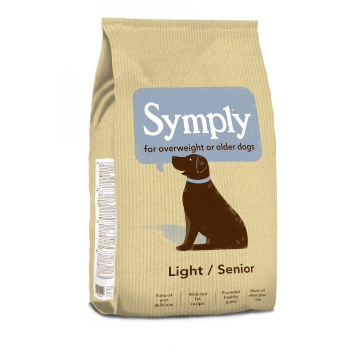 Symply Adult Light / Senior Dog Food Lamb & Rice 2kg