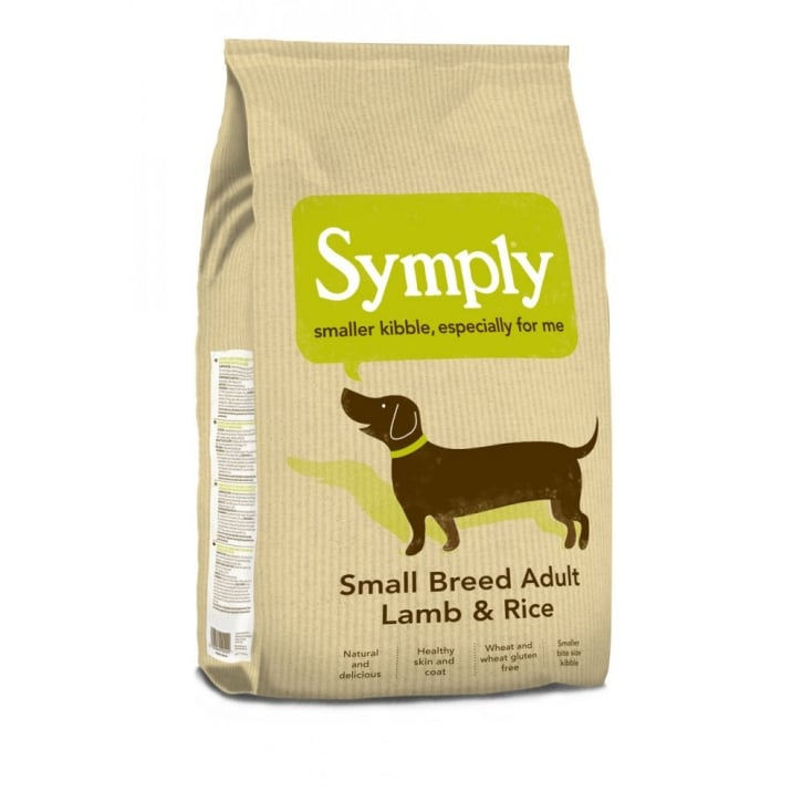 Symply Adult Small Breed Dog Food Lamb & Rice 2kg