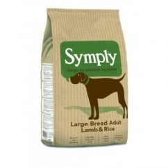Large Breed Adult Dog Food Lamb & Rice 12kg
