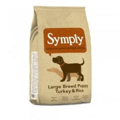 Large Breed Puppy Dog Food Turkey & Rice 12kg
