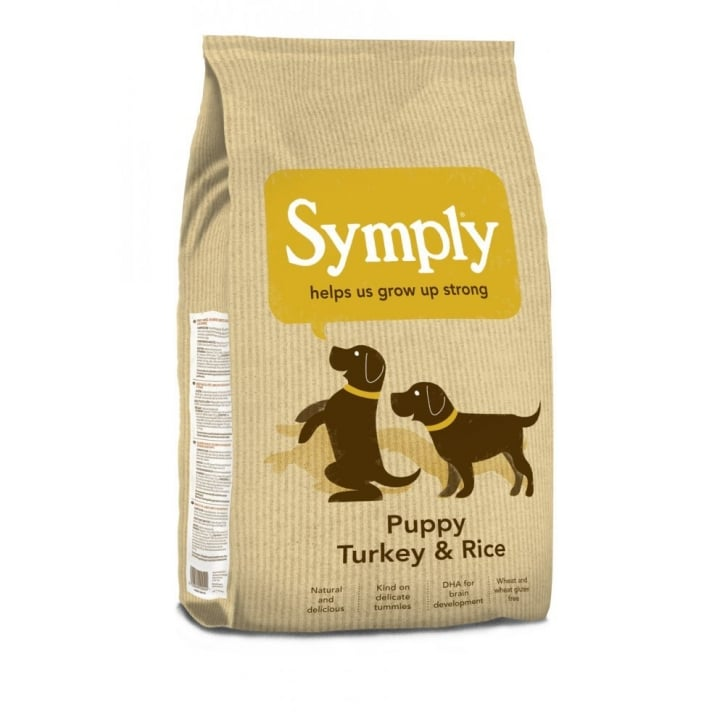 Symply Puppy Dog Food Turkey & Rice 12kg