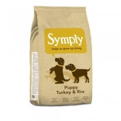Puppy Dog Food Turkey & Rice 12kg
