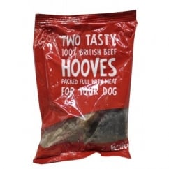T Forrest Woof & Chew Beef Hoof Pack 2 Piece