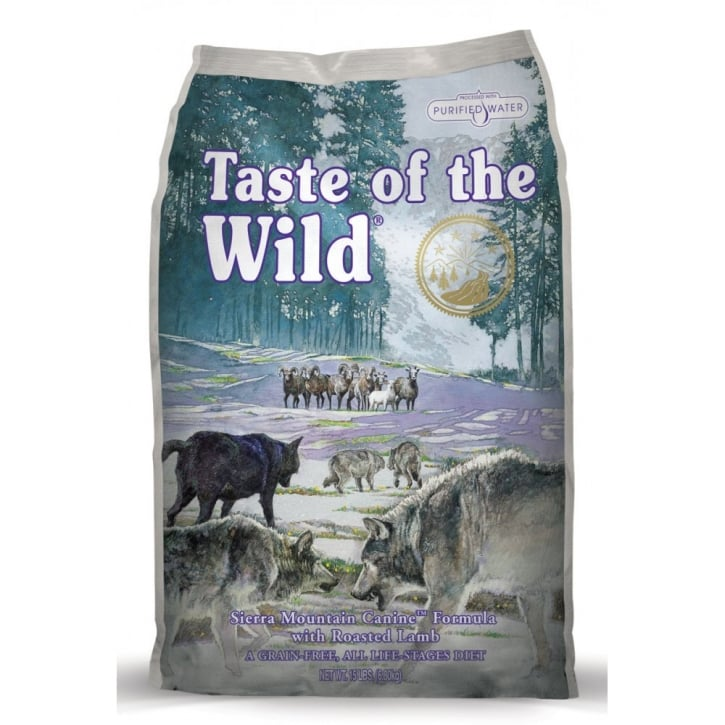 Taste of the Wild Adult Dog Food Sierra Mountain Roast Lamb 6.8kg