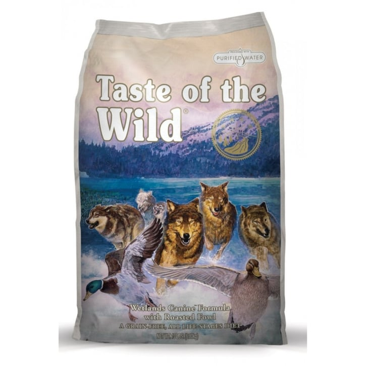 Taste of the Wild Adult Dog Food Wetlands Roasted Fowl 2kg