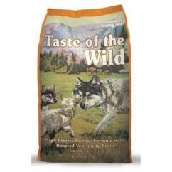 Taste of the Wild Puppy Food High Prairie Roast Venison & Bison 13.6kg