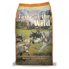 Taste of the Wild Puppy Food High Prairie Roast Venison & Bison 2.27kg
