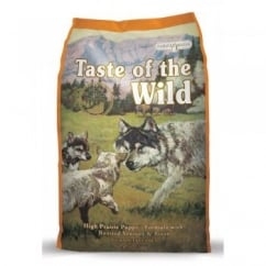Taste of the Wild Puppy Food High Prairie Roast Venison & Bison 6.8kg