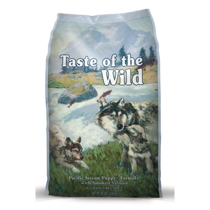 Taste of the Wild Puppy Food Pacific Stream Smoked Salmon 13.6kg