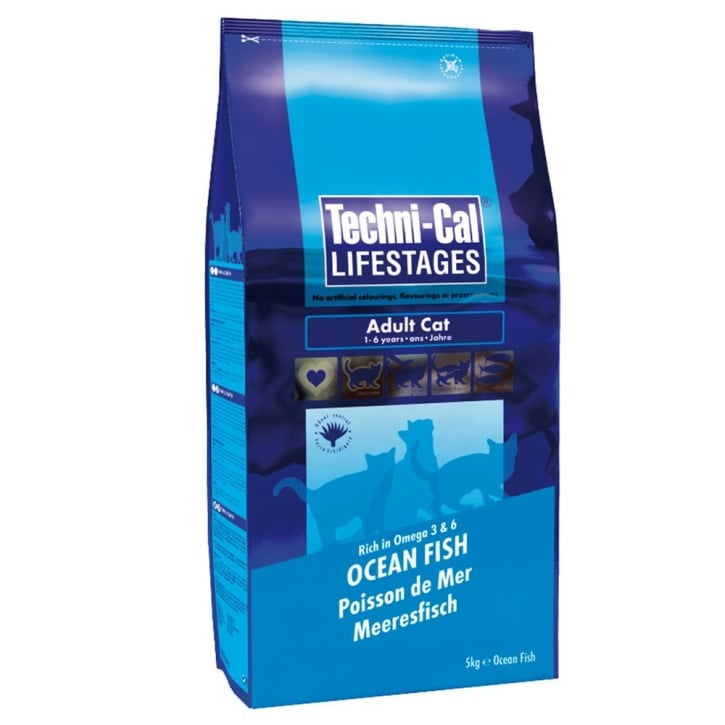 Techni-cal Lifestages Adult Cat Food Ocean Fish 5kg