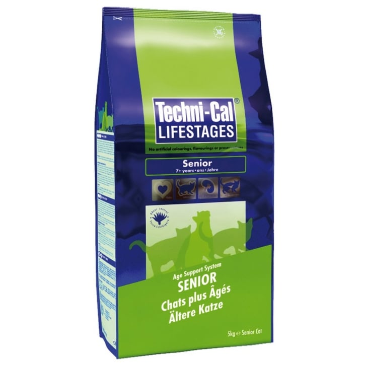 Techni-cal Lifestages Senior Cat Food Chicken 5kg