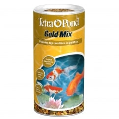Tetra Pond Gold Mix Fish Food 140g