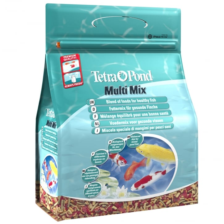 Tetra Pond MultiMix Fish Food 760g