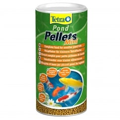 Tetra Pond Pellets Mini Fish Food 260g