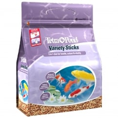 Tetra Pond Variety Foodsticks - 600gm