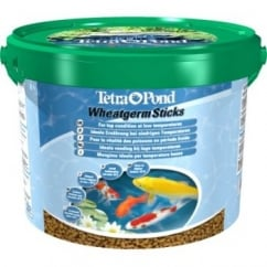 Tetra Pond Wheatgerm Sticks Fish Food 10ltre