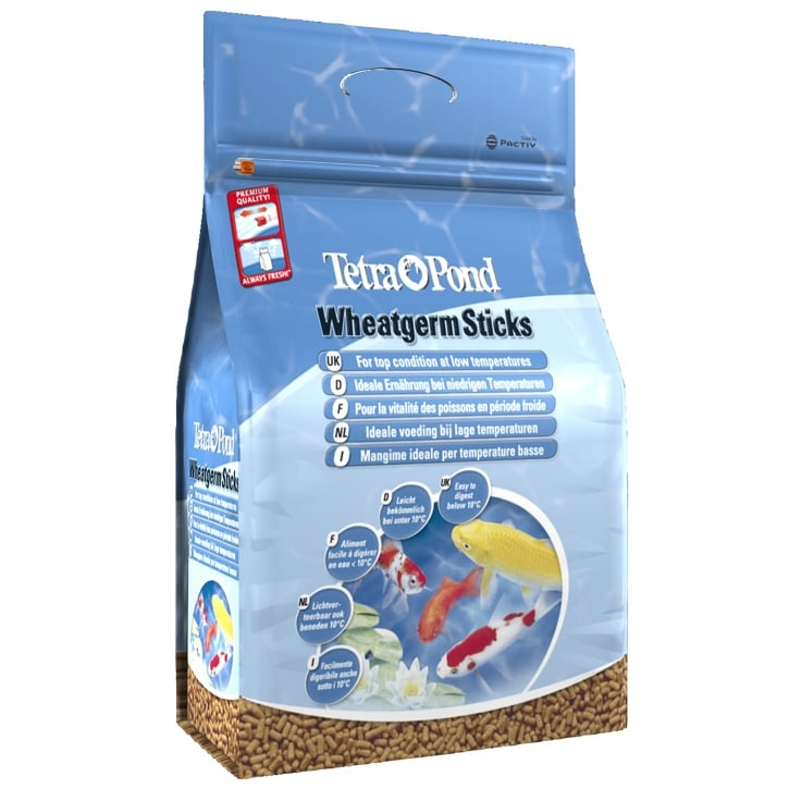 Tetra Pond Wheatgerm Sticks Fish Food 1400g