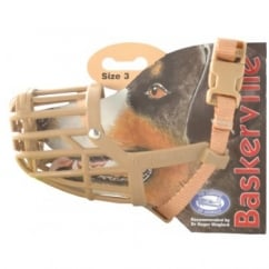 Company of Animals Baskerville Dog Muzzle Size 3 Dachshund
