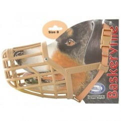 Company of Animals Baskerville Dog Muzzle Size 8 Labrador