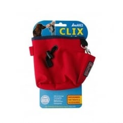 Clix Dog Treat Bag - Red