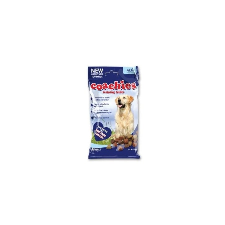 Company of Animals Coachies Training Treats 75g Pouch