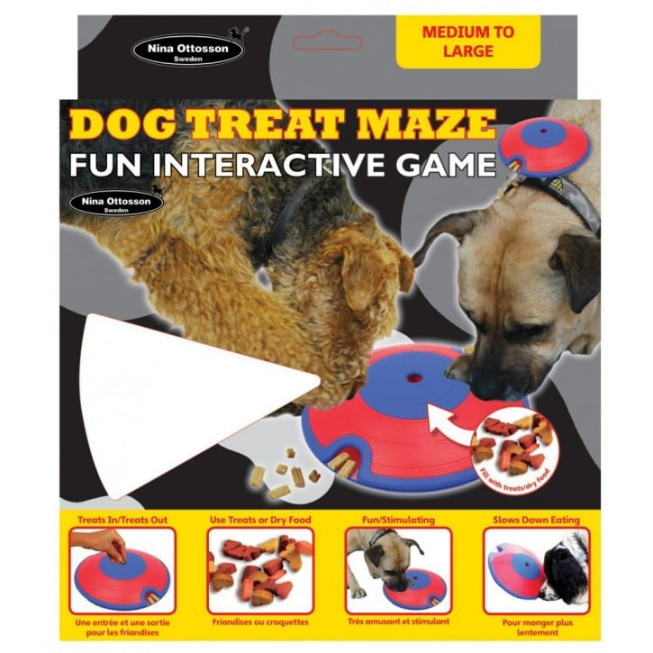 Company of Animals Nina Ottosson Dog Treat Maze Fun Interactive Game - Medium to Large