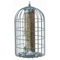 The Nuttery Squirrel & Predator Proof Extra Large 2-in-1 Peanut & Seed Feeder