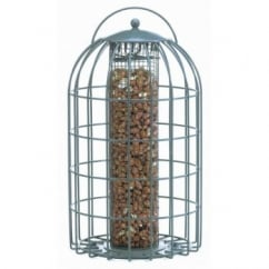 The Nuttery Squirrel & Predator Proof Extra Large Peanut Feeder Grey