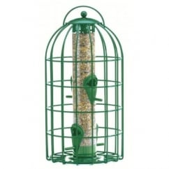 The Nuttery Squirrel & Predator Proof Original Seed Feeder Green