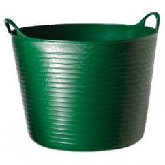 Flexible Multi-Purpose Bucket Large 38 Litre Green