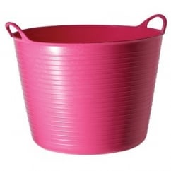 Flexible Multi-Purpose Bucket Large 38 Litre Pink